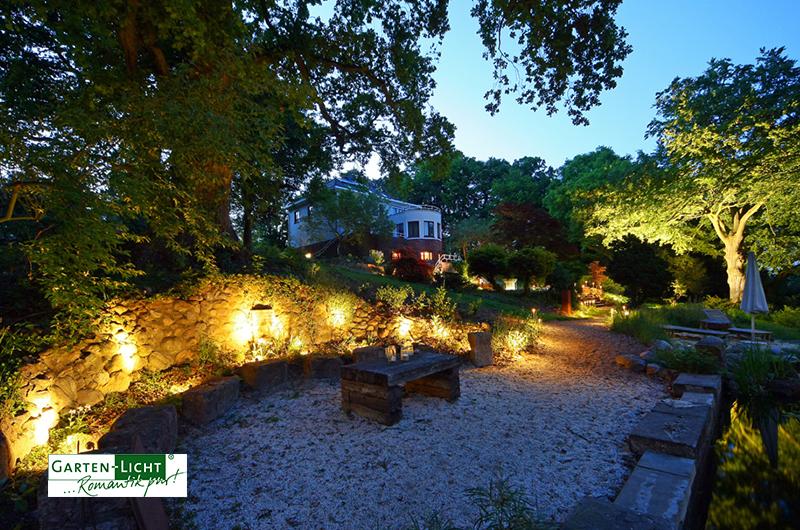 gartenbeleuchtung hgk garten und landschaftsbau. Black Bedroom Furniture Sets. Home Design Ideas